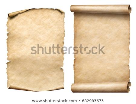 zie · spoedig · De · ober · barista · tonen · papier - stockfoto © maxmitzu