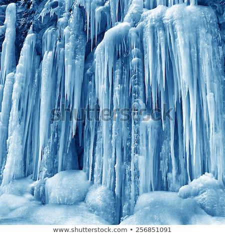 icicle and mountain Stock photo © russwitherington