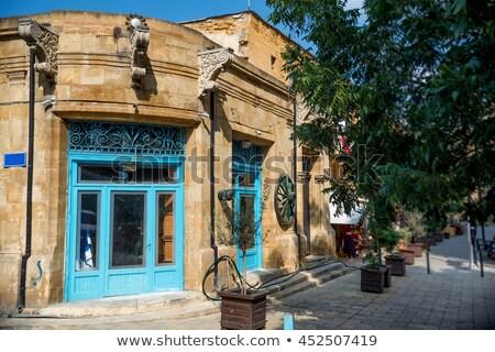 антикварная дом снаружи старый город дома текстуры здании Сток-фото © Kirill_M