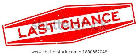 Végső árengedmény piros hatszög szalag 3D Stock fotó © marinini
