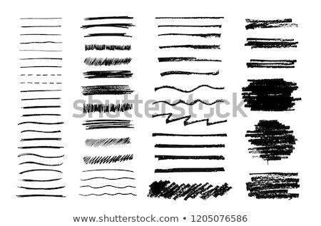 Foto stock: Lápiz · pintura · resumen · sucio · mano · pintado