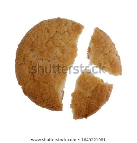 Sweet · кокосового · Cookies · бумаги - Сток-фото © marfot