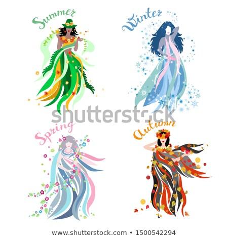 Stockfoto: Flower Dance Four