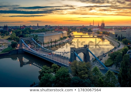 Wroclaw panorama Stock photo © joyr
