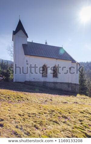 Igreja Eslováquia edifício arquitetura europa história Foto stock © phbcz