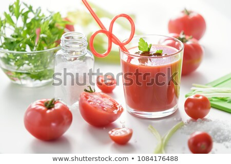 Tomato and Celery Juice Stock photo © zhekos