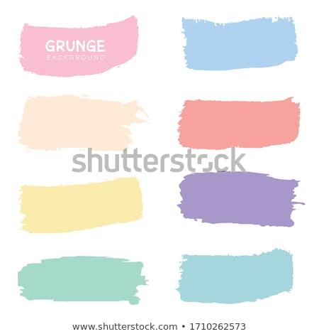 カラフル 水彩画 バナー 紙 抽象的な デザイン ストックフォト © gladiolus