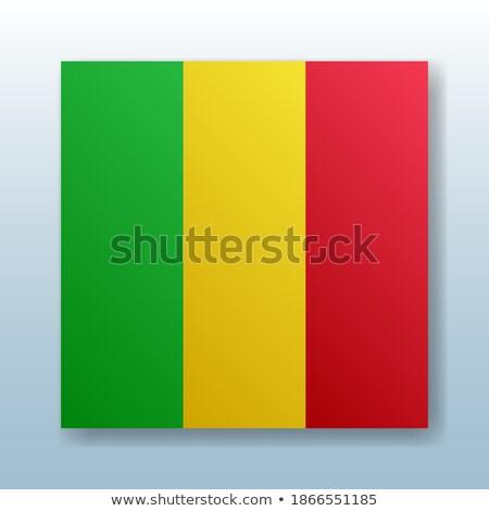 mappa · Mali · dettagliato · illustrazione · mail · bandiera - foto d'archivio © mayboro1964
