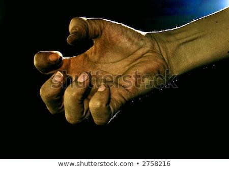 Requesting Dirty hands Stock photo © ziprashantzi