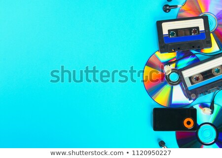 Disque évolution musique disco Photo stock © romvo