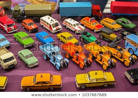 retro model cars stock photo © oleksandro