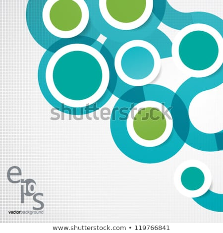 Multicolored overlapping circles background illustration. Stock photo © latent