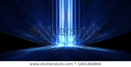 Smoke illuminated beam of light Stock photo © All32