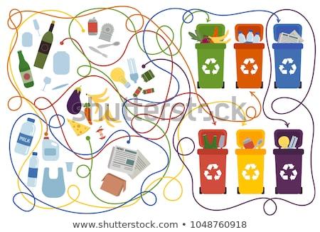 Recycle puzzle Stock photo © fuzzbones0