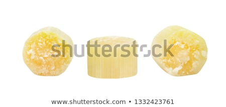 piece of sugarcane with red sugar stock photo © bdspn