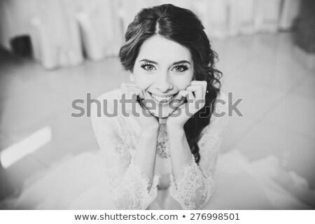brides it smiles at the fiance Stock photo © Paha_L