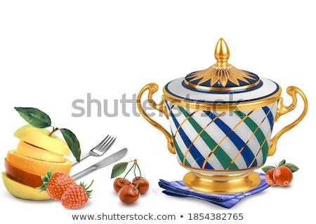 the background of ceramic tiles  Stock photo © OleksandrO