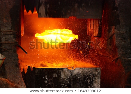 hot forge Stock photo © clearviewstock