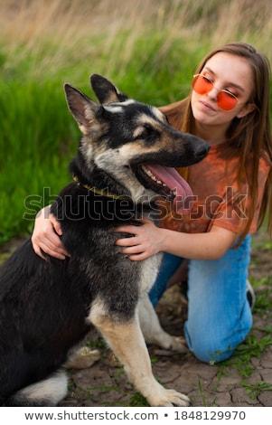 Bonitinho retrato feliz mulher cara Foto stock © dash