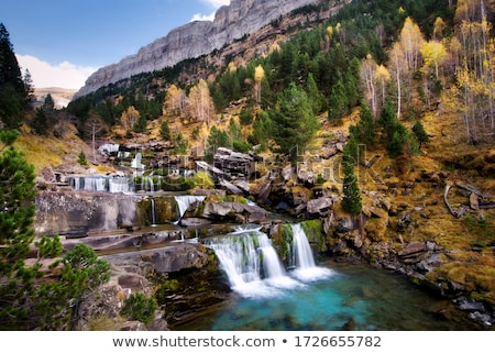 Csúcs helyes park kanyon természet hegy Stock fotó © pedrosala