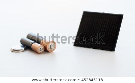 Solar células reciclaje energía Foto stock © dolgachov