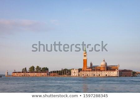 島 · ヴェネツィア · イタリア · 表示 · 日の出 · 光 - ストックフォト © oleksandro