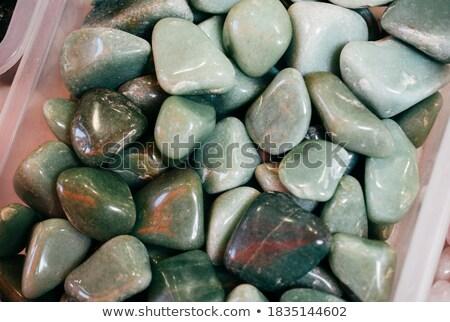 Macro tiroteio naturalismo mineral pedra verde Foto stock © boggy