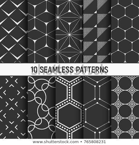 stylish geometric rhombus shape background Stock photo © SArts
