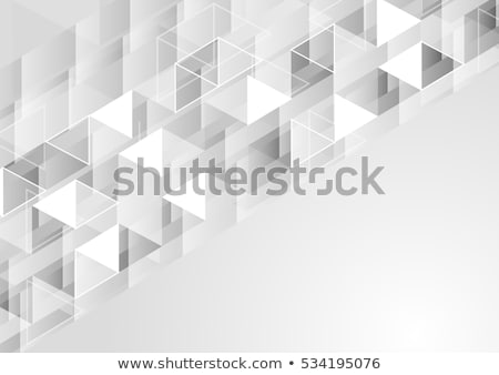 elegant abstract gray low poly background in minimal style Stock photo © SArts