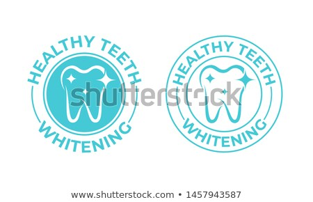 tooth with label stock photo © adamson