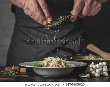 Spaghetti to cook Stock photo © Tawng