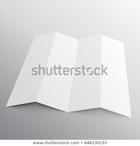 パンフレット 観点 ウェブ カード 白 ストックフォト © SArts