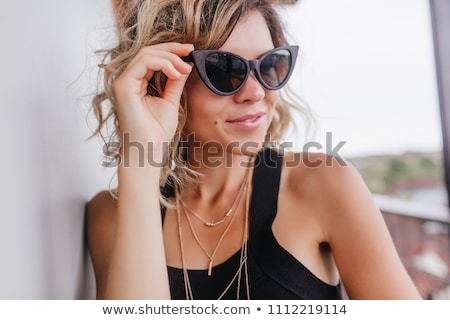 Beautiful woman with magnificent hair. Beauty. Stock photo © NikoDzhi