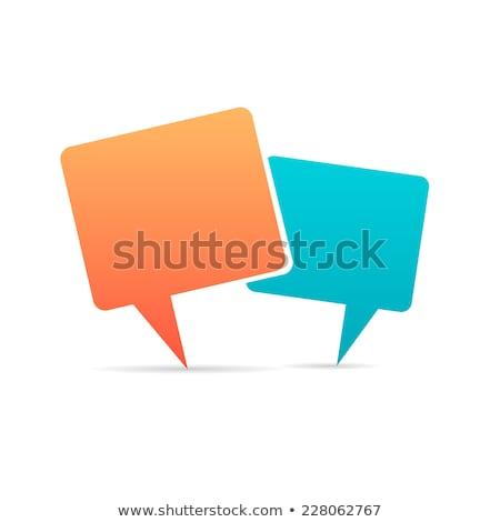 Stock fotó: Mobil · marketing · rajz · narancs · szöveg · üzlet