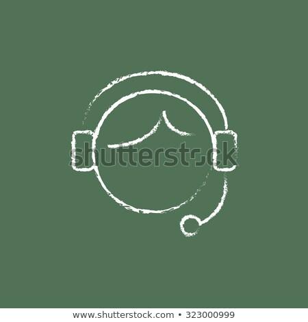 サービス · コンサルタント · チョーク · 実例 · 人 · 図面 - ストックフォト © tashatuvango