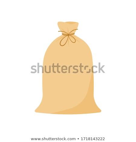 Vászon zsák vektor táska illusztráció karácsony Stock fotó © frescomovie