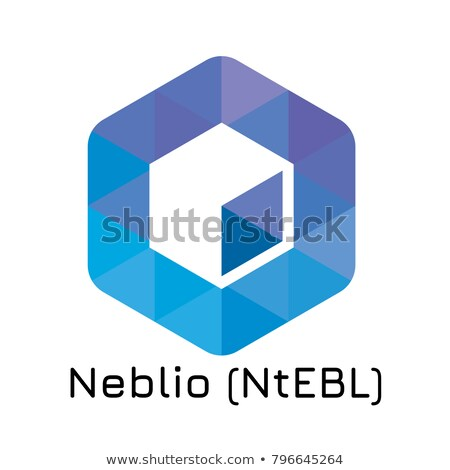 Neblio Crypto Currency - Vector Web Icon. Stock photo © tashatuvango