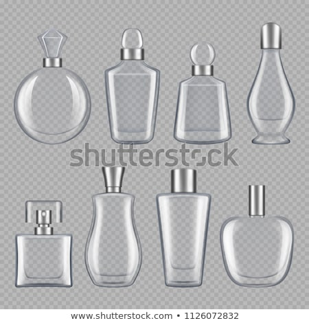 Various iconic set of assorted glass bottles Stock photo © studioworkstock