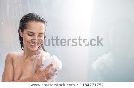 Beauty Under Shower Stock photo © MilanMarkovic78
