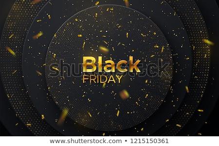 бумаги конфетти черная пятница продажи прибыль на акцию Сток-фото © limbi007