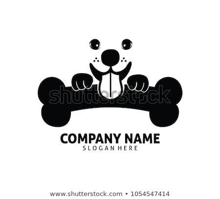 dog bone logo vector sign element icon Stock photo © blaskorizov