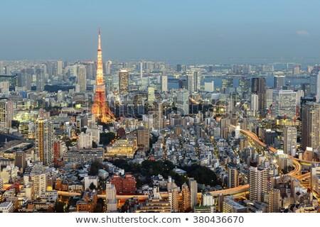 Tóquio · torre · Japão · linha · do · horizonte · cidade · ponte - foto stock © vichie81