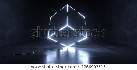 Rotated square abstract background 3D Stock photo © djmilic
