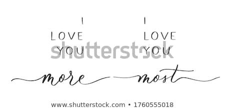 что любви цитировать Сток-фото © ivelin
