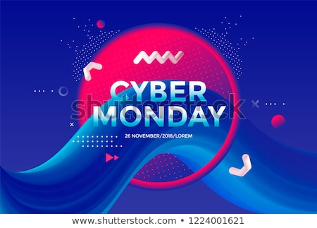 cyber monday technology style futuristic background Stock photo © SArts