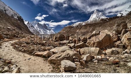 Rural road in Himalayas Stock photo © dmitry_rukhlenko