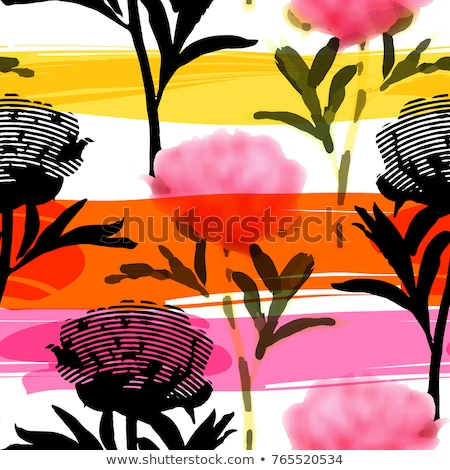 Cells floral pattern Stock photo © sahua