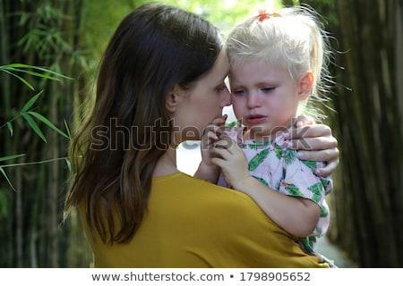 kind · moeder · familie · hand · gelukkig · paar - stockfoto © Paha_L