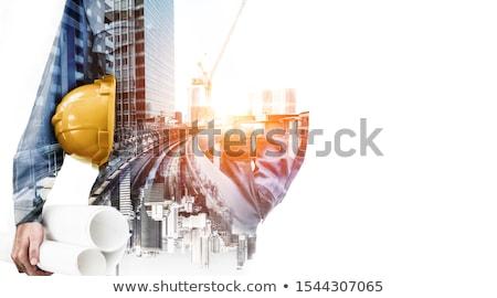 строительная площадка технологий мобильных говорить конкретные Сток-фото © photography33