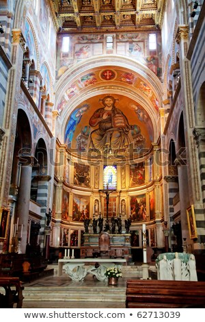 Pisa - Duomo. Cathedral of St. Mary of the Assumption stock photo © wjarek